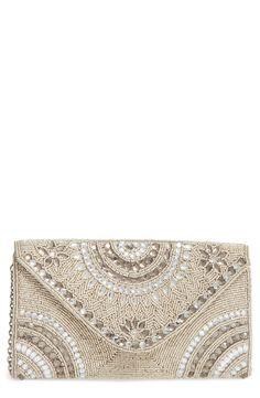 New Glint Alhambra Embellished Envelope Clutch fashion online. [$99]?@shop.seehandbags<<