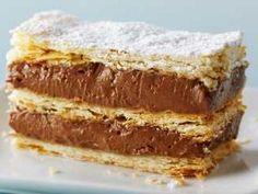 El gourmet Torta Napoleón de chocolate