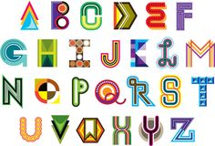 MWM Graphics | Matt W. Moore - Alphafont # 2: Vectorfunk Alphabet Exploration (2007)