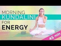 Morning Kundalini Yoga – In this video, we'll be doing a kundalini kriya yoga and meditation sequence for more energy and radiance. This 45 minute morning kundalini yoga class is intense, so make sure to take it slow and work up to it. This kundalini kriy Yoga Mudra, Kriya Yoga, Kundalini Yoga Poses, Bikram Yoga, Ashtanga Yoga, Vinyasa Yoga, Yoga Chakras, Pranayama, Partner Yoga