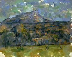 Paul Cezanne , Mont Sainte -Victoire