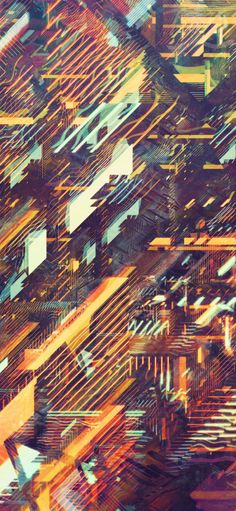 NEON CITIES by atelier olschinsky, via Behance Imagine this design on a skateboard deck!!