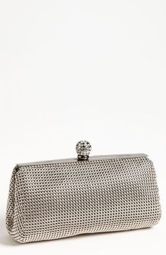 Whiting & Davis 'Crystal' Mesh Clutch at Nordstrom.com. Elevate your evening wear with a lavish mesh clutch crowned with a crystal-encrusted clasp and a short, drop-in chain strap.