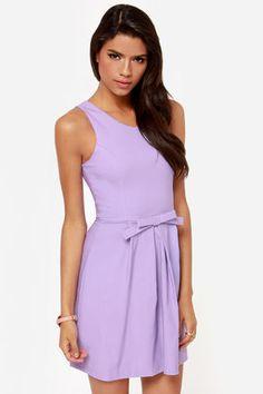 LULUS Exclusive Hot Off the Precious Lavender Dress at Lulus.com!