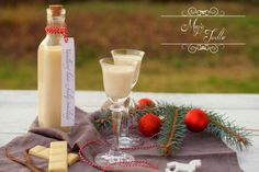 Handmade Christmas Gifts, Christmas Cookies, Glass Of Milk, Punk, Table Decorations, Drinks, Food, Home Decor, Smoothie