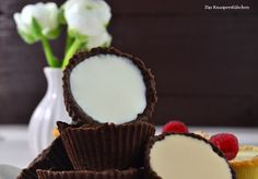 Cookie Cups with Panna Cotta