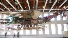 """Phoenix"" by Xu Bing - Mass MOCA"