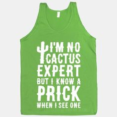 I'm no cactus expert but I know a prick when I see one