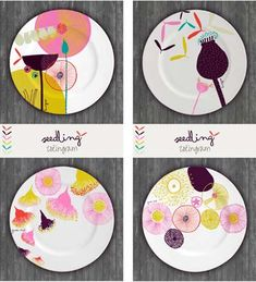 Gorgeous plate deigns by Zoe Ingram--winner of the Global Talent Search who will be represented by Lilla Rogers Studio for the next two years!