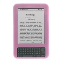 GTMax Pink Silicone Skin Soft Cover Case for Amazon kindle keyboard 3 by Generic. $3.09. Brand new generic case Durable soft silicone material. Custom made to fit your kindle 3 perfectly. Easy installation, just dress on your kindle without any tools. Plug your charger, headset or cable without removing the case. Prevents damage to your kindle 3 from objects in your pockets or purse. Kindle 3 not includ...