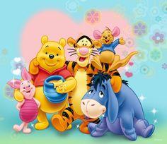 Pooh & the gang