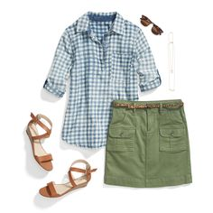 Spring… check! Next stop: summer. Prep for the new season in fresh, preppy summer gingham and classic cargo.
