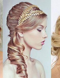 Roman Goddess Hairstyles   Greek Hairstyles With Headband Hairstyles in greek style