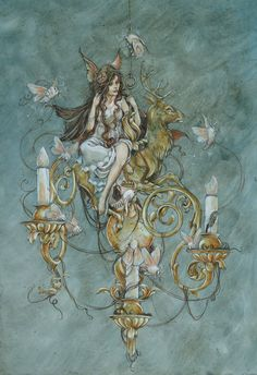 Gorgeous work by Philadelphia-based illustrator Jeremy Hush. More images below.                   Jeremy Hush's Website