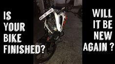 nice #How to Check Your Bikes Rebuild After ACCIDENT -VIDEO