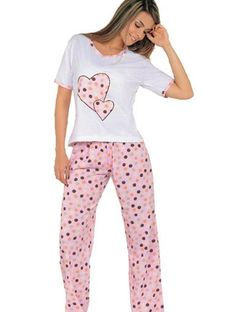 pijamas mujer - Buscar con Google Lingerie Sleepwear, Nightwear, Pyjamas, Super Moda, Night Gown Dress, Pijamas Women, Womens Pjs, Cute Lazy Outfits, Night Suit