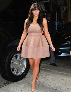 Kim Kardashian's unique maternity style. Check out all the images in our gallery