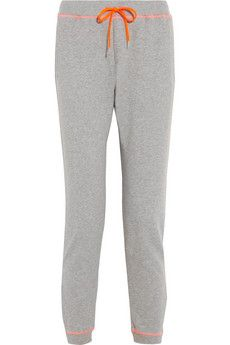 Richard Nicoll Cotton-jersey track pants | NET-A-PORTER
