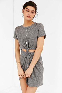Under $50: This Knot Front T-Shirt Dress Is A Must-Have For Summer