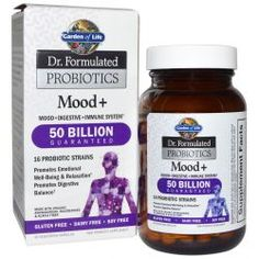 Garden Of Life, Dr. Formulated Probiotics, Mood +, 60 Veggie Caps, Diet Suplements -ST
