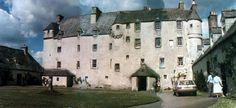 Photographs of Traquair House & Bear Gates, Scotland - UK History Scotland Castles, Scottish Castles, Scotland Uk, Uk History, Ancient Ruins, Medieval Castle, British Isles, Places Ive Been, Places To Visit