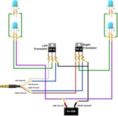 very simple 2 transistor led flasher circuit elektronika rh pinterest com
