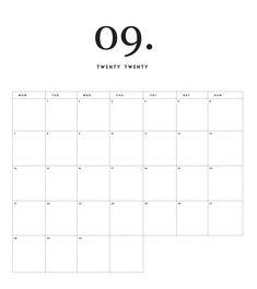Newest Pic 2020 September calendar Strategies As soon as you consider it, most o… – Calendar Template İdeas. Free Printable Calendar Templates, Blog Planner Printable, Printable Calendar 2020, Blank Calendar Template, Calendar Calendar, Jewish Calendar, Chinese Calendar, Minimal Calendar, Life Planner