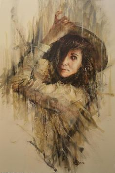 Rémi LaBarre is a painter based in Montreal, Quebec. Inspired by romance lovers, music, he painted series of modern portraits in a vintage theme. He has participated in numerous group and solo exhibitions and has won different prizes and has received an important press coverage.