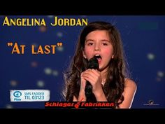 ▶ Angelina Jordan - At last - Artist Galla (Bli Plan Fadder 13.12.2014) - YouTube