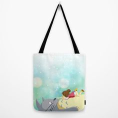 My Neighbor Totoro and Mei. Winter by FromFloraWithLove on Etsy