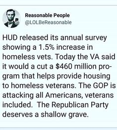 Cuts reversed when people noticed, keep fighting!   https://www.politico.com/story/2017/12/06/homeless-veterans-benefits-trump-207781