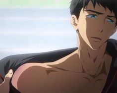 Find images and videos about boy, anime and free on We Heart It - the app to get lost in what you love. Yamazaki Sousuke, Rin Matsuoka, Handsome Anime Guys, Cute Anime Guys, Anime Boys, Tokyo Ghoul, Rei Ryugazaki, Male Character, Makoto
