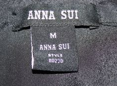 Another fake Anna Sui label