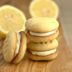 Filled Lemon Fork biscuits