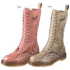 ecf5a98cc2c Dr. Martens Laser Cut Out Vine Leather Boots. AilleursBottes À LacetsBottes  HautesBottes De CuirDr ...