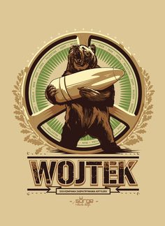 T-shirt designs created for polish clothing company Surge Polonia. All designs are inspired by national polish symbols and the most glorious moments in polish history. Wojtek Bear, Polish Symbols, Battle Of Monte Cassino, Polish Clothing, Polish Tattoos, Poland History, Ww2 Posters, Diorama, Bear Art
