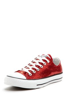 Converse Chuck Taylor Glitter Low Top Sneaker | A million times YES!