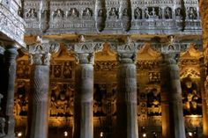 The Artistic Delights of Ajanta and Ellora Caves - Tucked away in the middle of rural western India, lie two artistic gems- the caves of Ajanta and Ellora. A visit worth undertaking for their aesthetic wonders.