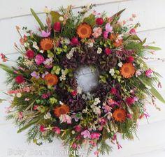 Front Door Wreath Contemplation Year Round Wreath