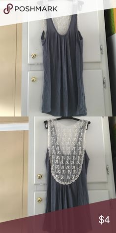 Tank top Tank top with lace style back Tops Tank Tops