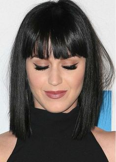 Cabelo curto com franja - Katy Perry