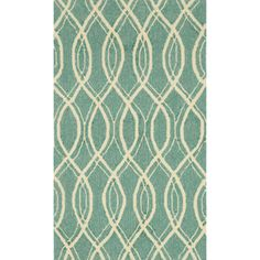 @Overstock.com - Handmade Indoor/ Outdoor Capri Turquoise Rug (2'3 x 3'9) - Perfect for any living space that needs a splash of color, this turquoise indoor and outdoor rug features a modern, hand-hooked design. The geometric pattern featured on this rug is ideal for contemporary, transitional, and modern spaces.  http://www.overstock.com/Home-Garden/Handmade-Indoor-Outdoor-Capri-Turquoise-Rug-23-x-39/7751755/product.html?CID=214117 $39.55