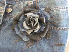 Мобильный LiveInternet Цветы из джинсы. Идеи | Svetlachoook - Дневник Svetlachoook |