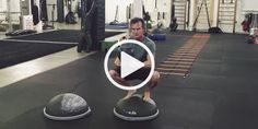 The Money Maker on the BOSU Elite preps your body with a proper squat form required to keep your body properly aligned and improve the quality, depth, and control of ground based squats.