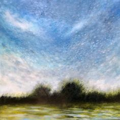 Lakes Flood Field Impressionist Landscape, Landscape Paintings, Canada House, International Artist, Canadian Artists, Brush Strokes, Contemporary Paintings, Oil On Canvas, Art Gallery