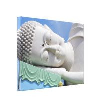 #Buddha Statue Resting #Sleeping #Happy Peace Canvas #Canvas Print