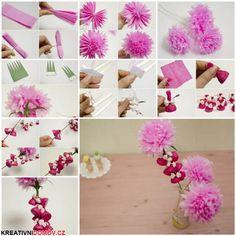 Kvetiny z pap�ru