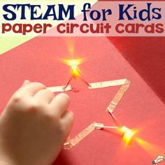 Making paper circuit cards is the perfect union of science, technology, art, and design. For that reason, this activity fits perfectly into any STEAM or STEM curriculum at school, for library events, or just for fun at home. Let kids unleash their creativity as they experiment with paper circuit art and create a unique card