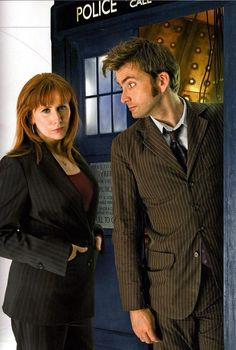 David Tennant & Catherine Tate - Doctor Who - 2008 Doctor Who 10, First Doctor, 10th Doctor, Catherine Tate, David Tennant Doctor Who, Donna Noble, Dr Who Companions, Serie Doctor, Billie Piper
