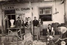 Merendero casa el Churra, matando un cordero. via Museo huertano de Murcia Murcia, Cook, Antique, Recipes, Old Bridges, Wanderlust, Lamb, Old Photography, Old Pictures
